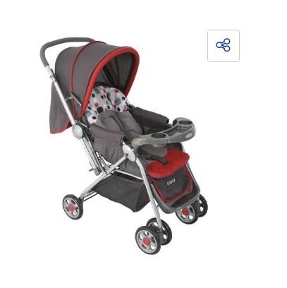 Carrinho de Bebê Reverse Cosco - Vermelho