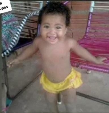 Lara Shofia, de 11 meses (foto: reprodução)